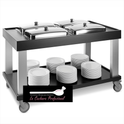 CARRO BUFFET 4 GN 1/1 CALIENTE