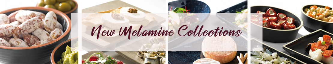 Don't miss our new melamine section, you'll be surprised!
